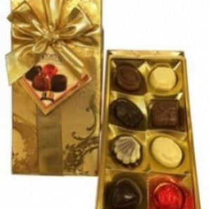 Boîte de chocolats de luxe