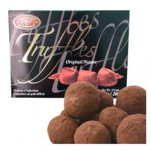 Belgique Truffes buy at Fleur Quebec